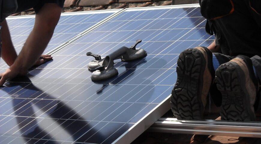 Solar Panel Installation Process