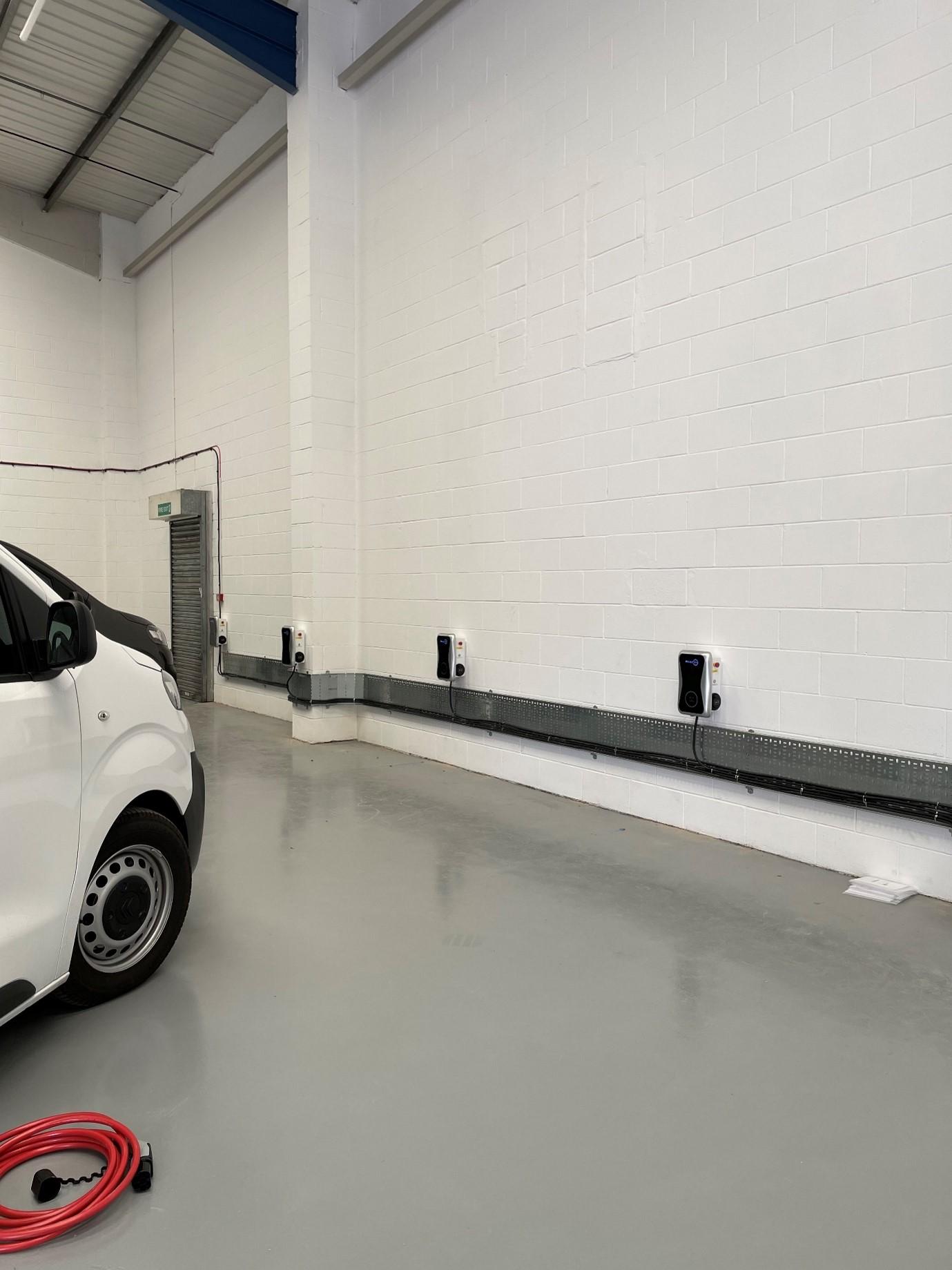 Case study: EV charging points, Leeds